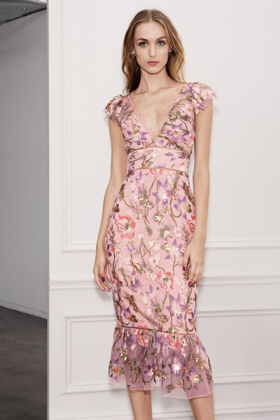 Marchesa Notte Spring 2018 Ready-to-Wear - Look #9