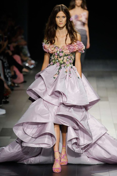 Marchesa Spring 2018 Ready-to-Wear - Look #15