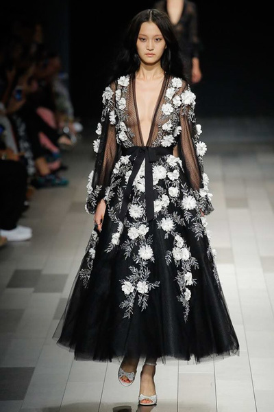 Marchesa Spring 2018 Ready-to-Wear - Look #3