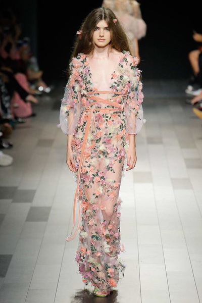 Marchesa Spring 2018 Ready-to-Wear - Look #32