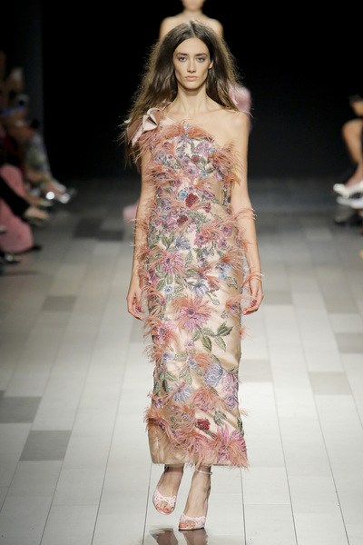 Marchesa Spring 2018 Ready-to-Wear - Look #35