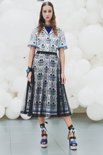 Markus Lupfer Spring 2018 Ready-to-Wear - Look #3