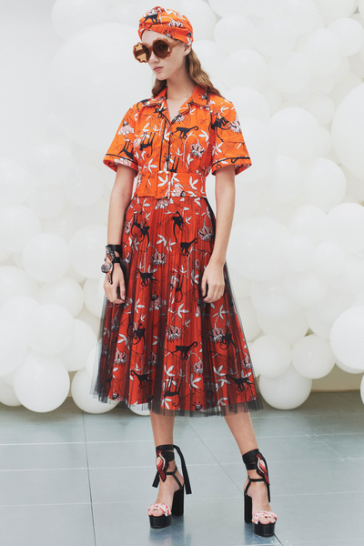 Markus Lupfer Spring 2018 Ready-to-Wear - Look #9