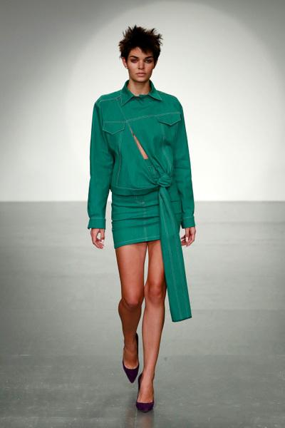 Marta Jakubowski Spring 2018 Ready-to-Wear - Look #1