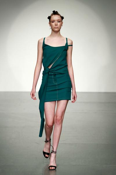 Marta Jakubowski Spring 2018 Ready-to-Wear - Look #10