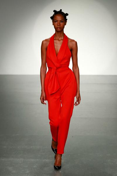 Marta Jakubowski Spring 2018 Ready-to-Wear - Look #11