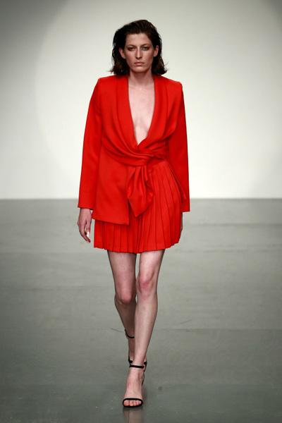 Marta Jakubowski Spring 2018 Ready-to-Wear - Look #15