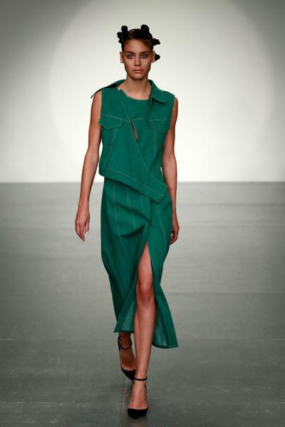 Marta Jakubowski Spring 2018 Ready-to-Wear - Look #5