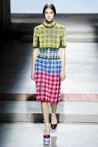 Mary Katrantzou Spring 2018 Ready-to-Wear - Look #19