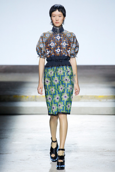 Mary Katrantzou Spring 2018 Ready-to-Wear - Look #23
