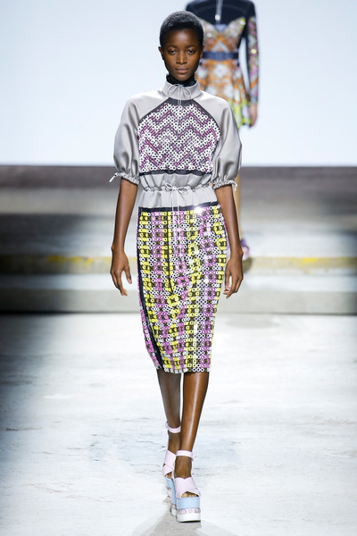 Mary Katrantzou Spring 2018 Ready-to-Wear - Look #24