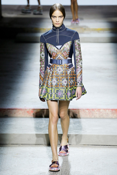 Mary Katrantzou Spring 2018 Ready-to-Wear - Look #25