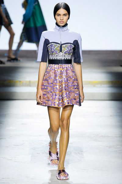 Mary Katrantzou Spring 2018 Ready-to-Wear - Look #26