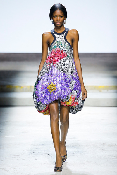 Mary Katrantzou Spring 2018 Ready-to-Wear - Look #34