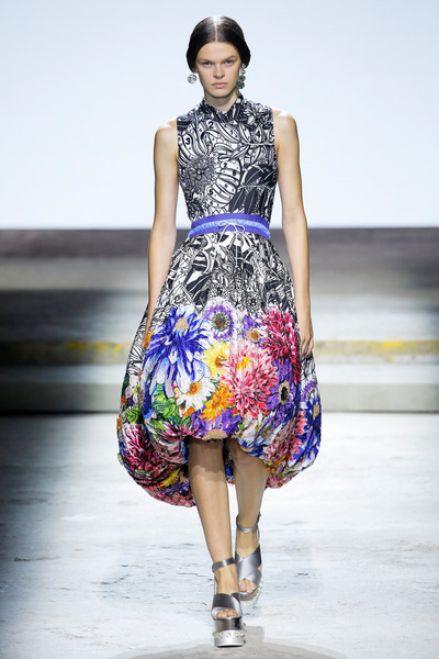 Mary Katrantzou Spring 2018 Ready-to-Wear - Look #35