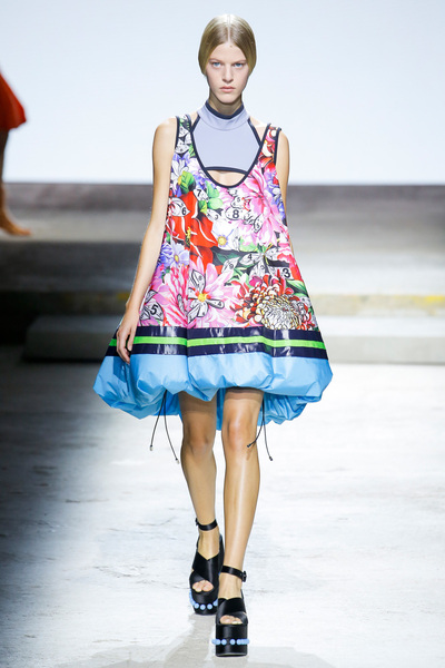 Mary Katrantzou Spring 2018 Ready-to-Wear - Look #4