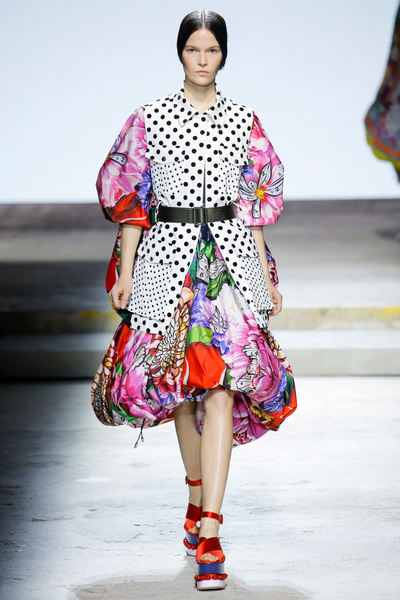 Mary Katrantzou Spring 2018 Ready-to-Wear - Look #6