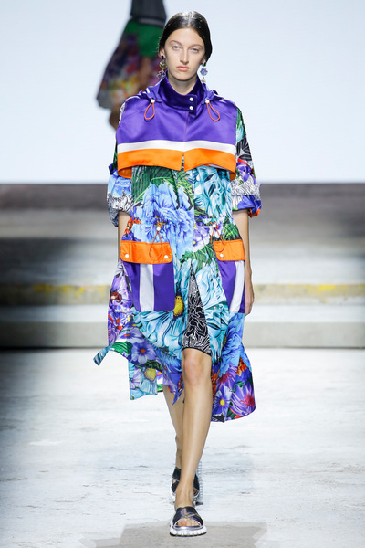 Mary Katrantzou Spring 2018 Ready-to-Wear - Look #7