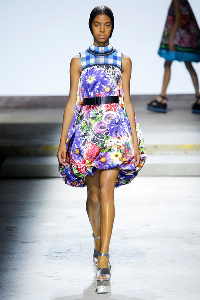 Mary Katrantzou Spring 2018 Ready-to-Wear - Look #8