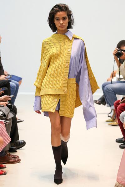 Matthew Adams Dolan Spring 2018 Ready-to-Wear - Look #11