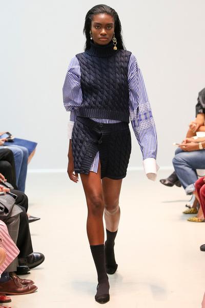 Matthew Adams Dolan Spring 2018 Ready-to-Wear - Look #14