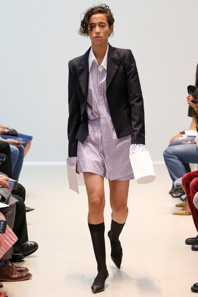 Matthew Adams Dolan Spring 2018 Ready-to-Wear - Look #17