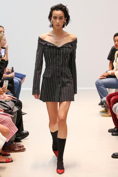 Matthew Adams Dolan Spring 2018 Ready-to-Wear - Look #20