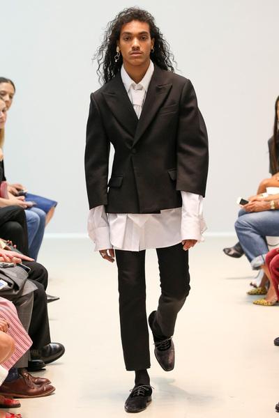 Matthew Adams Dolan Spring 2018 Ready-to-Wear - Look #28