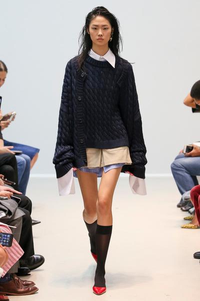 Matthew Adams Dolan Spring 2018 Ready-to-Wear - Look #4