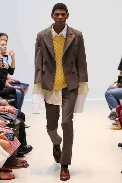 Matthew Adams Dolan Spring 2018 Ready-to-Wear - Look #6