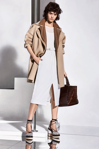 Max Mara Resort 2018 - Look #13