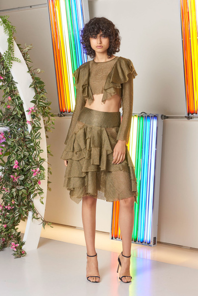 MILLY Spring 2018 Ready-to-Wear - Look #11