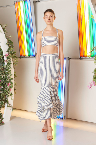 MILLY Spring 2018 Ready-to-Wear - Look #4