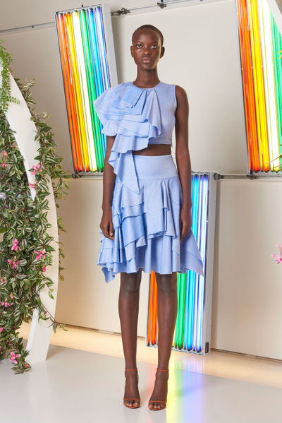 MILLY Spring 2018 Ready-to-Wear - Look #6