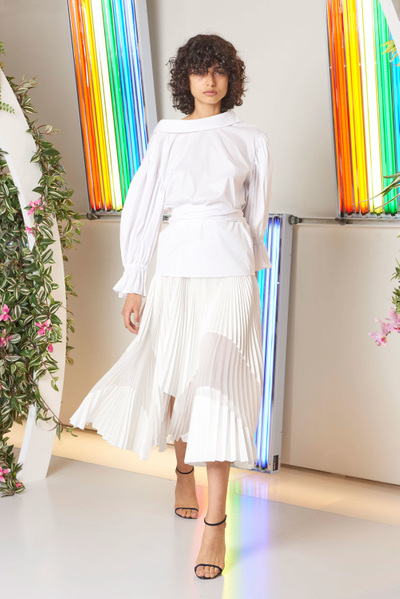 MILLY Spring 2018 Ready-to-Wear - Look #7