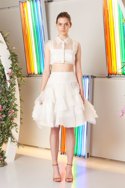 MILLY Spring 2018 Ready-to-Wear - Look #8