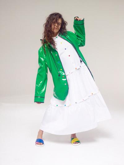 Mira Mikati Spring 2018 Ready-to-Wear - Look #14