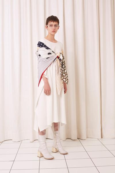MM6 Maison Margiela Spring 2018 Ready-to-Wear - Look #12