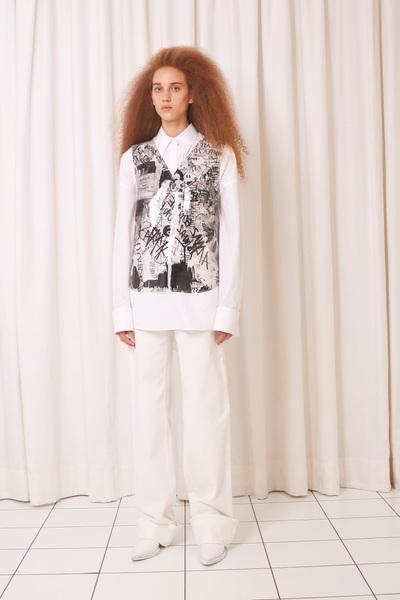MM6 Maison Margiela Spring 2018 Ready-to-Wear - Look #20