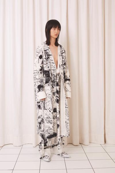 MM6 Maison Margiela Spring 2018 Ready-to-Wear - Look #21