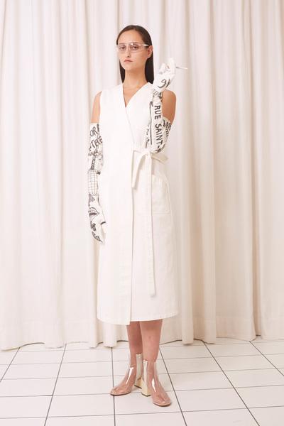 MM6 Maison Margiela Spring 2018 Ready-to-Wear - Look #4