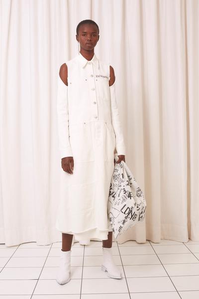 MM6 Maison Margiela Spring 2018 Ready-to-Wear - Look #6