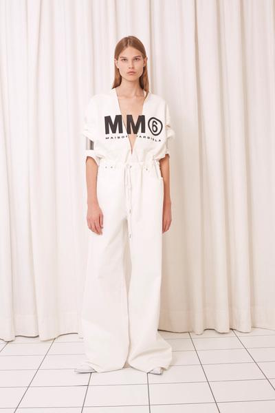 MM6 Maison Margiela Spring 2018 Ready-to-Wear - Look #7