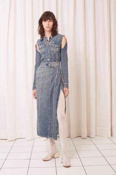 MM6 Maison Margiela Spring 2018 Ready-to-Wear - Look #9