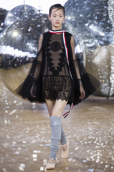 Moncler Gamme Rouge Spring 2018 Ready-to-Wear - Look #31