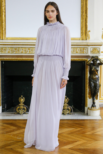 Monique Lhuillier Spring 2018 Ready-to-Wear - Look #10