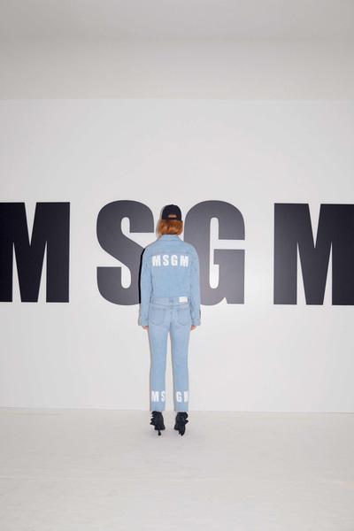 MSGM Resort 2018 - Look #40
