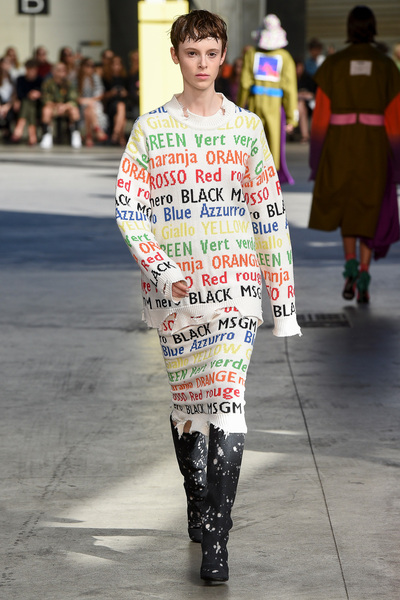 MSGM Spring 2018 Ready-to-Wear - Look #1