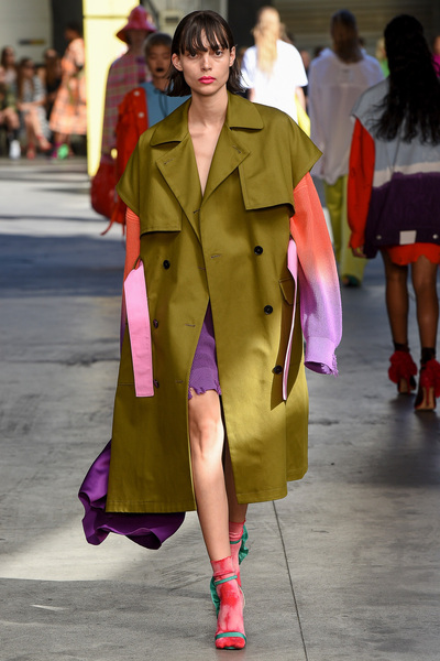 MSGM Spring 2018 Ready-to-Wear - Look #12