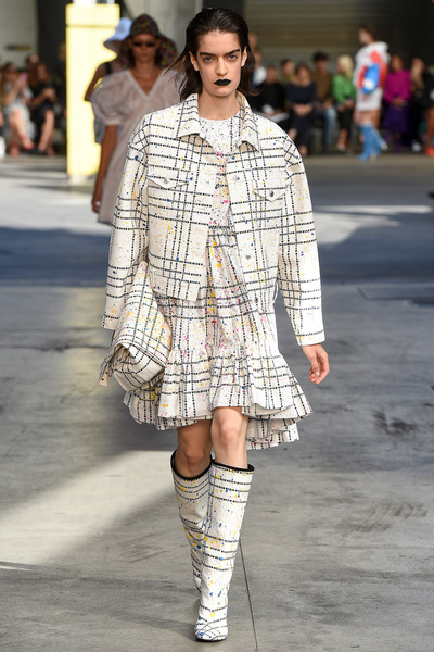 MSGM Spring 2018 Ready-to-Wear - Look #30